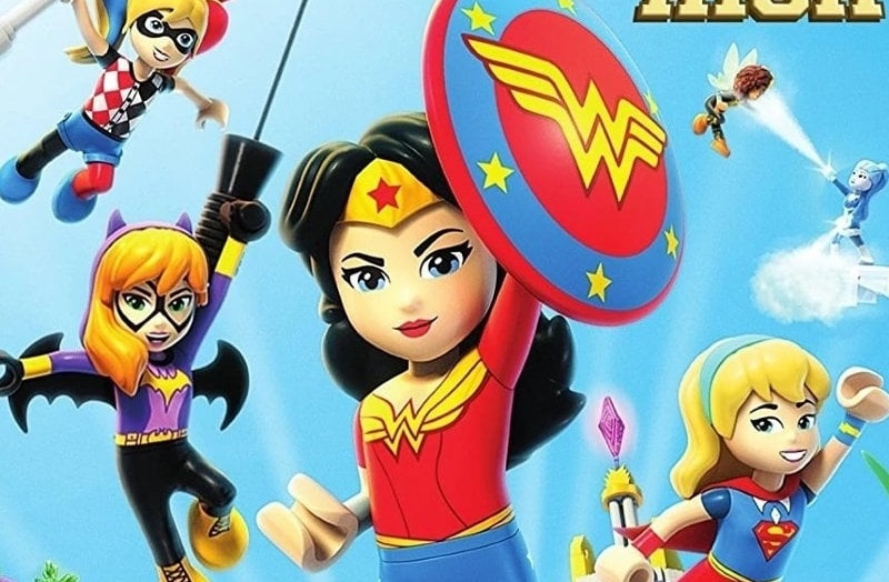 Lego DC Super Hero Girls: Instituto de Supervillanos (2018) HD 1080P LATINO/INGLES