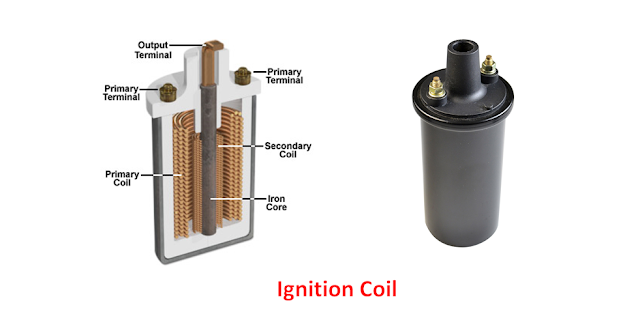 Ignition Coil Main parts, Working Principle and Application