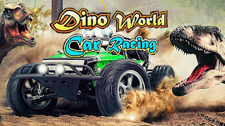 Dino World Car Racing V1.0 MOD Apk For Android