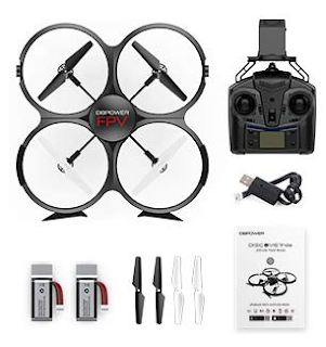 DBPOWER FPV 720P HD WiFi Camera Drone