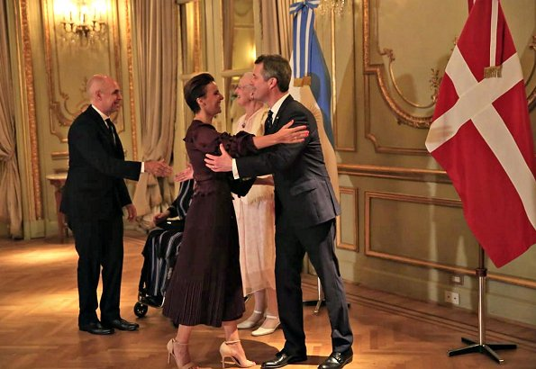 President Mauricio Macri of Argentina, his wife Juliana Awada