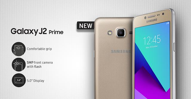 Spesifikasi Samsung Galaxy J2 Prime