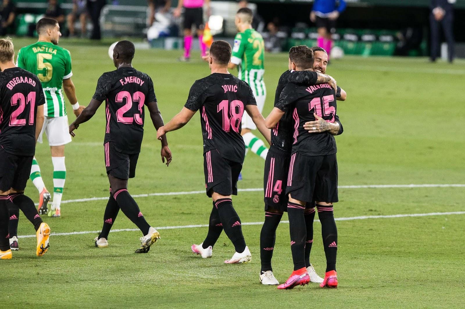 Betis 2-3 Real Madrid