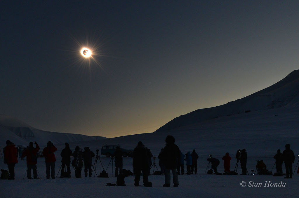 Northern Equinox Eclipse