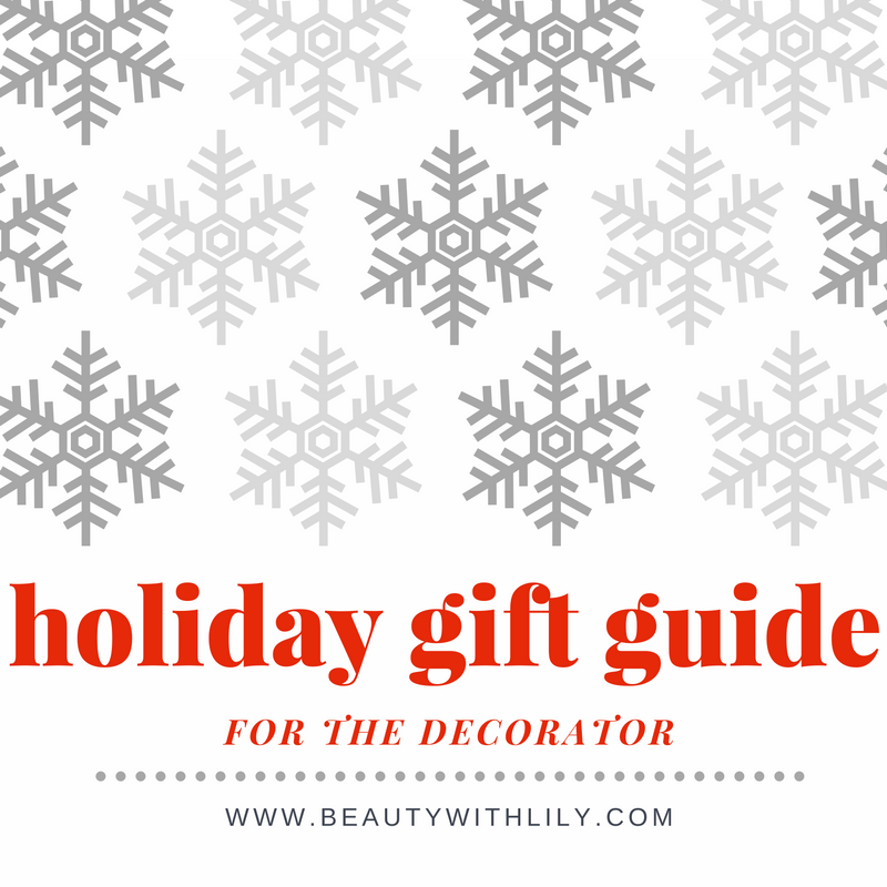 Gift Guide   For Home Decor // Perfect gift ideas for people who love home decor   beautywithlily.com