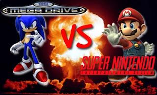 Guerra de consolas 16 bits - SNES vs Mega Drive