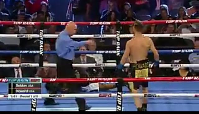 Tyler Howard def. Isiah Seldon Via KO middleweights