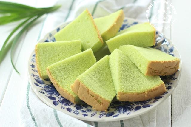 Pandan Chiffon Cake Recipe Nasi Lemak Lover