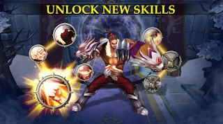 Downloa Game Warriors of Glory V4.9 MOD Apk + OBB Data
