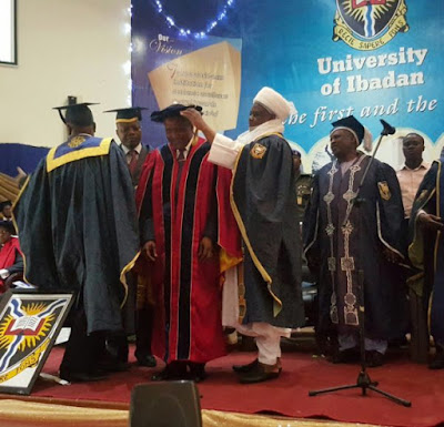 Dangote Conferred with University of Ibadan's 100th Honorary Degree as a Doctor of Science