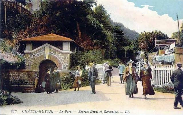 Châtel-Guyon sources Deval et Germaine