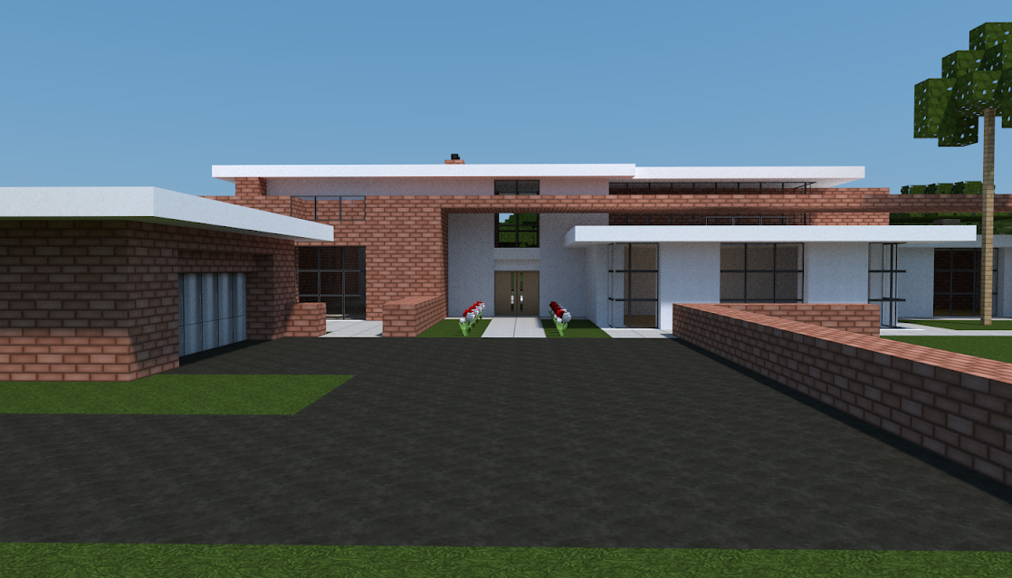 Plan D Une Maison Contemporaine Minecraft Constructor