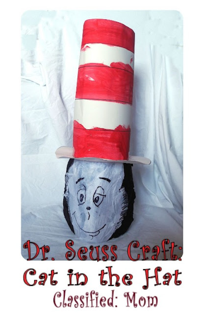 Dr. Seuss Craft Cat in the Hat