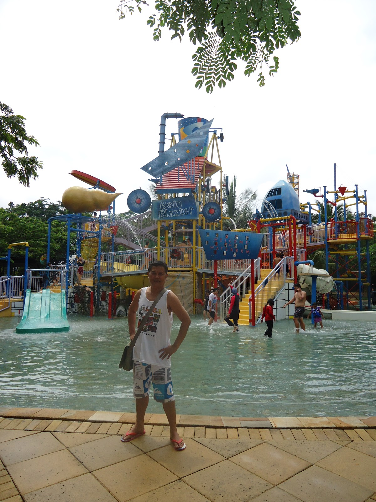 Waterbom Jakarta The Urban Cool Anything Under Sun Waterboom Pik Combined With Modern Architecture And Minimalist Is Themed As