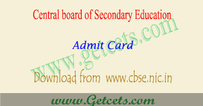 CBSE 12th Admit Card 2018-2019 download,CBSE Admit Card 2018-2019 class 12 download,CBSE 12th Admit Card 2018