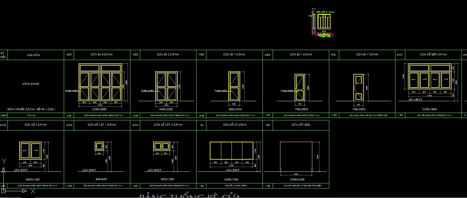 [Autocad] Door Autocad files collection