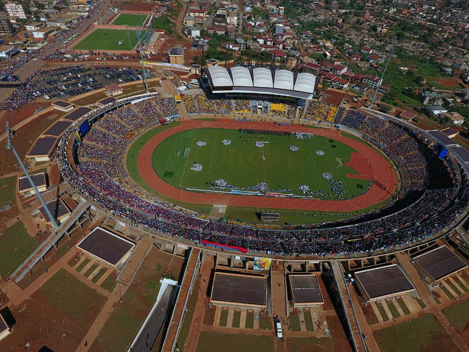 Image result for ahmadou ahidjo stadium