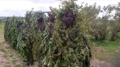 nigerian army snipers camouflage suit