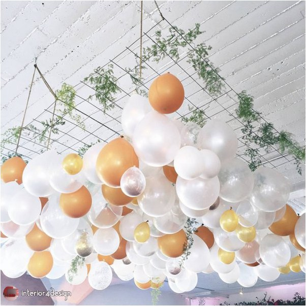 Wedding Decorations With Balloons And Flowers 21