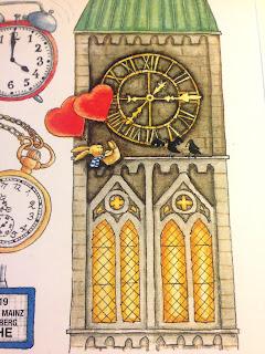 Felix Wie spät ist es? Buchseite mit Kirche