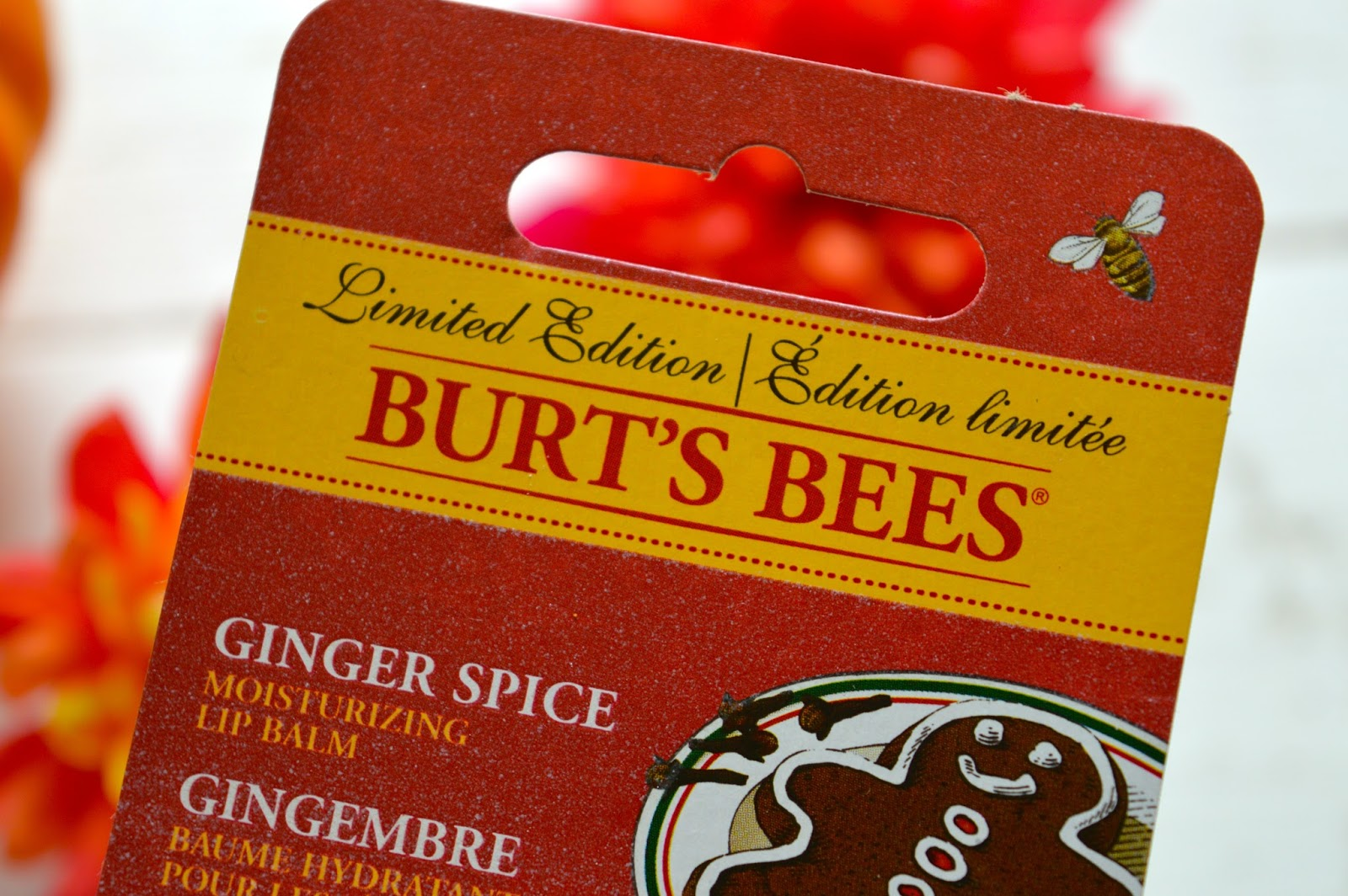 Burts Bees Ginger Spice lip balm, Burts Bees lip balm, ginger lip balm, Dalry Rose blog, UK beauty blog, UK beauty bloggers