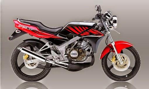 Kawasaki Ninja SS Red