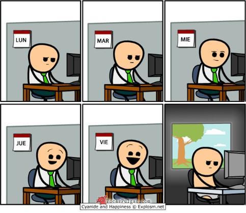 La vida del consultor SAP (incluso el fin de semana)