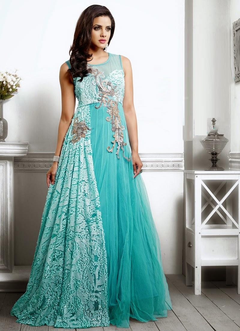 Designer Party Wear Gowns  9c07a3c0f