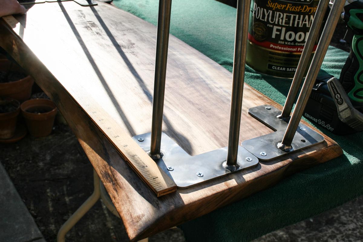 diy wood slab coffee table