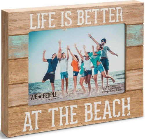 Self Standing Box Picture Frame with Beach Theme