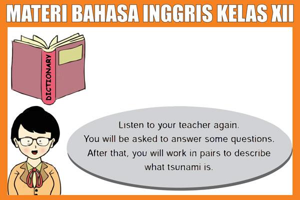 Materi Bahasa Inggris Kelas 12 SMA/K Kurikulum 2013 Lengkap