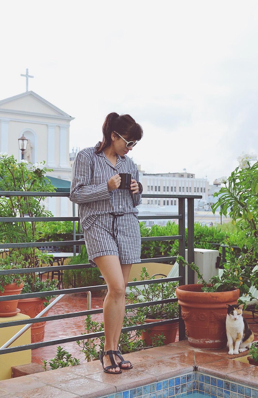 Pajamas street style
