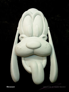 "pierre rouzier_Disney - ""pluto"" sculpture"