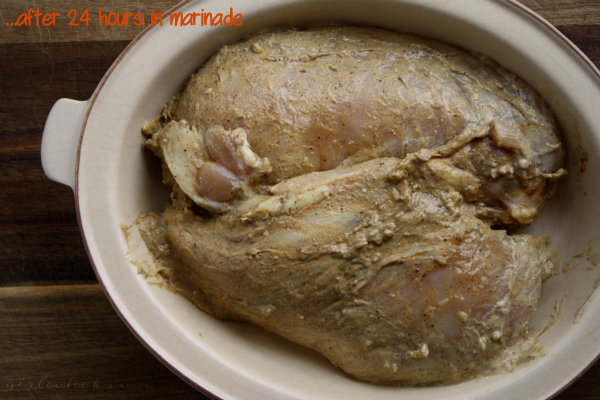 marinated chicken for shawarma
