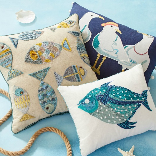 Sea Life Pillow Collection