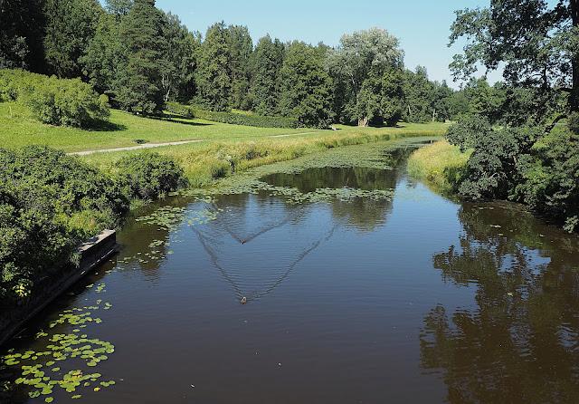 Парк в Павловске – река Славянка (Park in Pavlovsk - Slavyanka River)