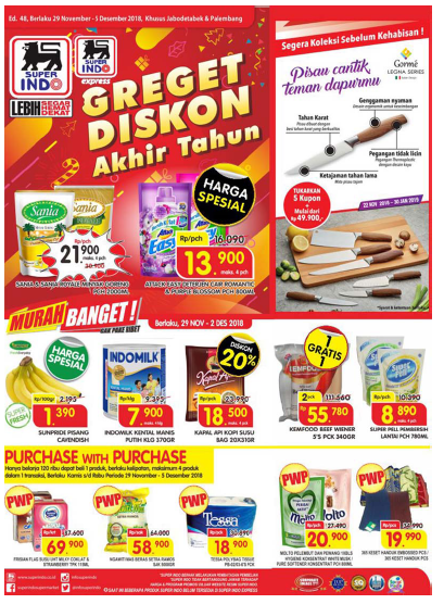 Katalog Promo Superindo Weekday Januari 2019