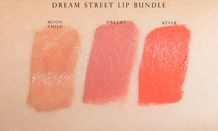Colourpop Dream St Lip Rever, Dreamy and Moon Child Review and swatches