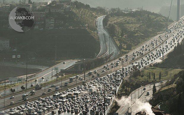 Istanbul Turkey Traffic