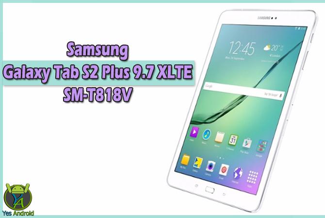 Samsung Galaxy Tab S2 Plus 9.7 XLTE SM-T818V Full Specs Datasheet