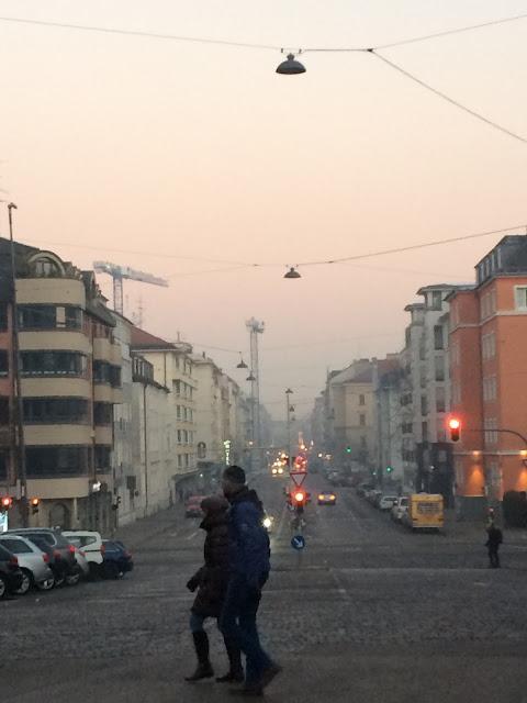 Smog München Schwanthaler Str