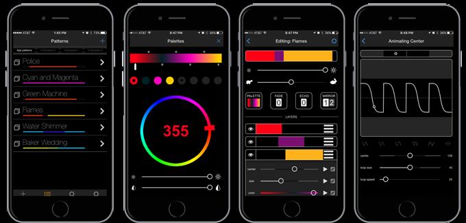 Фирменное приложение для управления Colorspike