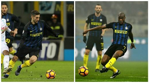 Gagliardini e Kondogbia, saranno loro probabilmente i centrali stasera, contro la Juventus