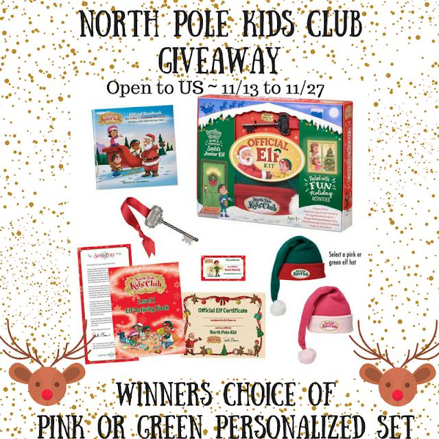 North Pole Kids Club Giveaway