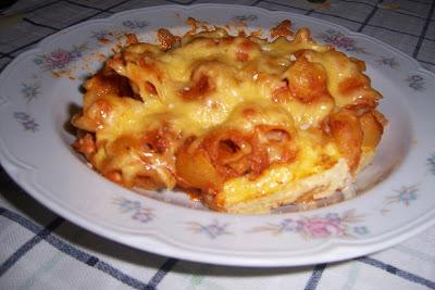 Recetas de cocina macarrones con tomate al horno - Macarrones con verduras al horno ...