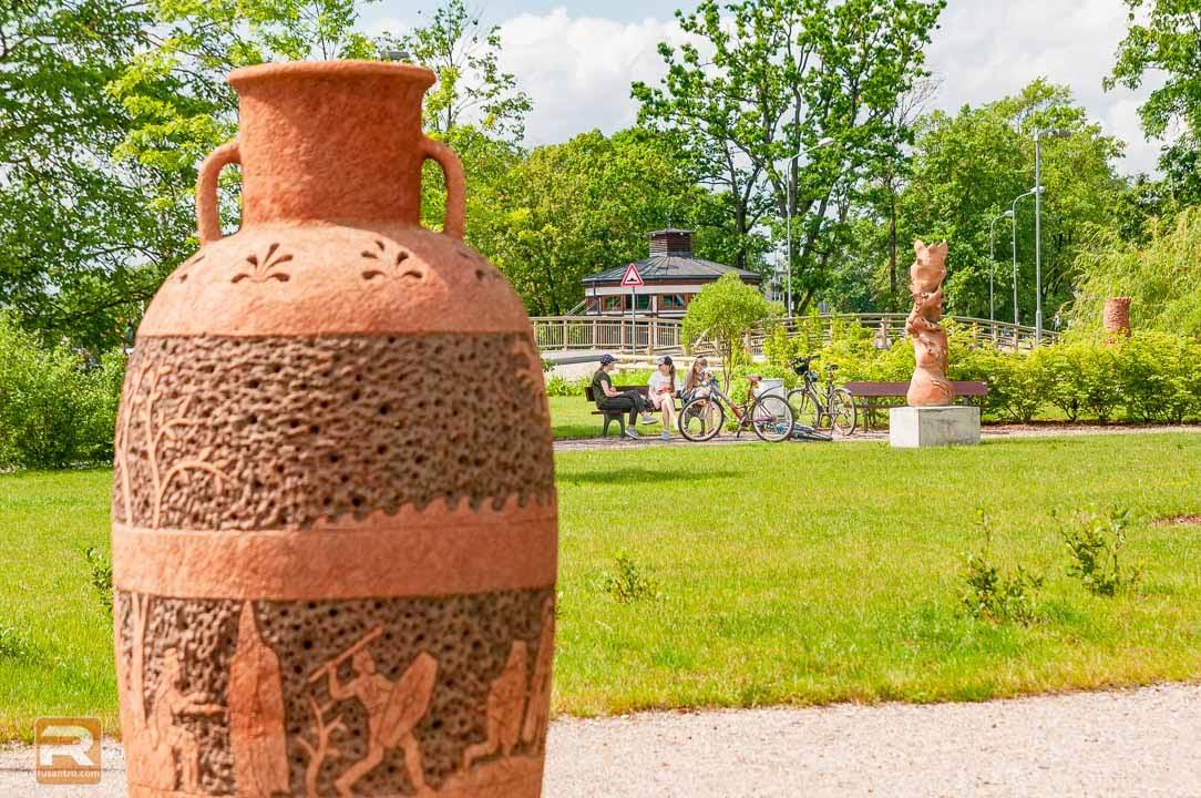 Šamota keramikas skulptūra 5