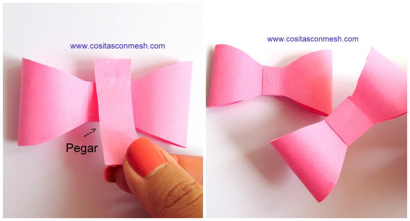 C mo hacer mo os de papel para regalos cositasconmesh - Para hacer monos ...