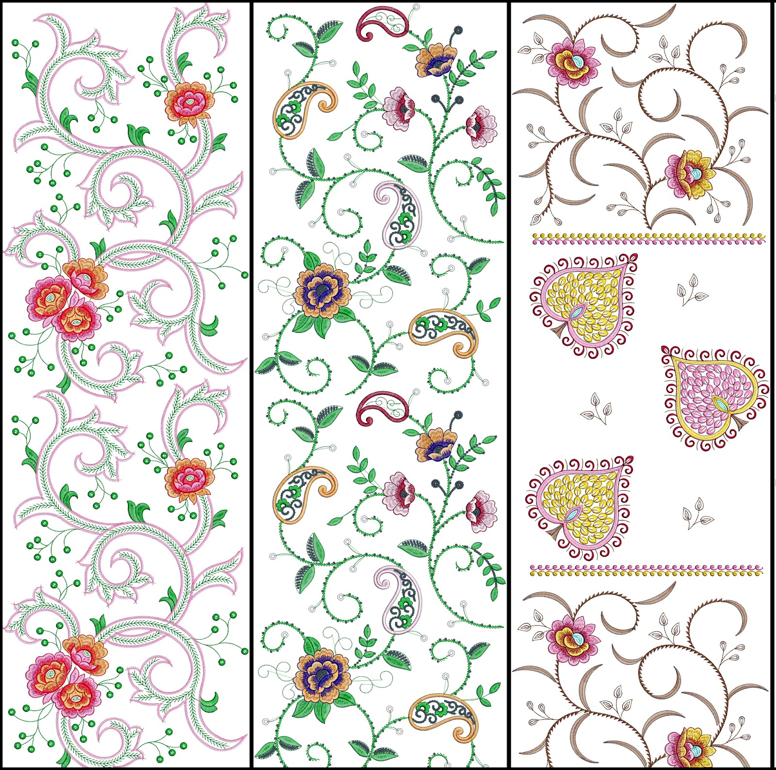 World S Best Embroidery Design