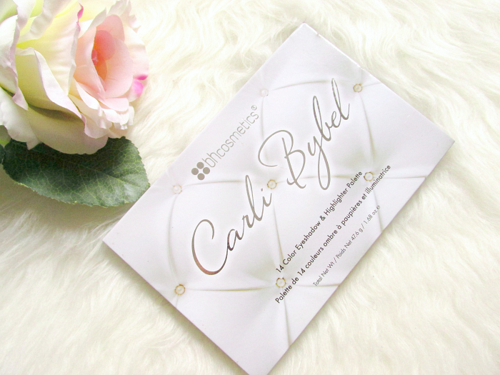 bh cosmetics -  Carli Bybel Eyeshadow & Highlighter Palette - Review, Swatches, Photos