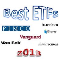 Best Exchange Traded Funds 2013